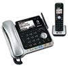 AT&T® TL86109 Two-Line DECT 6.0 Phone System with Bluetooth® and Digital Answering System