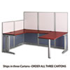 Bush® Office in an Hour™ Collection U- Workstation