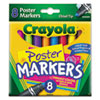 Crayola® Washable Poster Markers