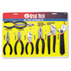 Great Neck® 8-Piece Steel Plier and Wrench Tool Set