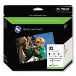 HP 02 Series Photo Paper Value Pack