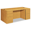 HON® 10700 Series™ Double Pedestal Desk with Full-Height Pedestals