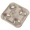 Chinet® StrongHolder® Molded Fiber Cup Trays