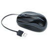 Kensington® Pro Fit® Optical Mouse with Retractable Cord