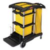 Rubbermaid® Commercial HYGEN™ HYGEN™ Microfiber Healthcare Cleaning Cart