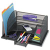 Safco® Onyx™ Organizer with Three Drawers