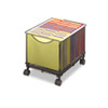 Safco® Onyx™ Mesh Mobile File Cube