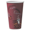 Dart® Solo® Paper Hot Drink Cups in Bistro® Design