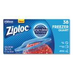 Double Zipper Freezer Bags, 1 Qt, 2.7 Mil, 6.97