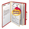 Smead® Colored Top Tab Classification Folders