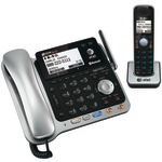 DECT 6.0 2-Line Connect to Cell(TM) Corded/Cordless Bluetooth(R) Phone System with Digital Answering System & Caller ID (Corded Base System & Single Handset)