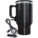 16-Ounce Electric Coffee Mug with Wire Car Plug