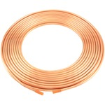 Copper Refrigeration Tubing, 50-Foot Roll (1/4-Inch)