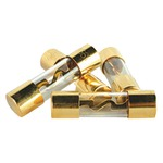 Gold AGU Fuses, 4 Pack (50 Amps)