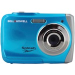 12.0-Megapixel WP7 Splash Waterproof Digital Camera (Blue)