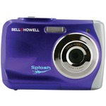 12.0-Megapixel WP7 Splash Waterproof Digital Camera (Purple)