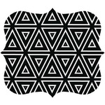 Designer Mouse Pad (Geometric Triangles)