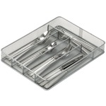 5-Compartment Steel Mesh Cutlery Tray