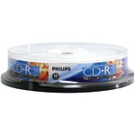 700MB 80-Minute 52x CD-Rs (10-ct Cake Box Spindle)