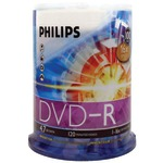 4.7GB 16x DVD-Rs (100-ct Cake Box Spindle)