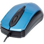 Edge Optical USB Mouse (Blue/Black)
