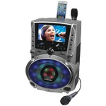 DVD/CD+G/MP3+G Bluetooth(R) Karaoke System with 7