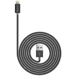 Charge & Sync USB Cable with Lightning(R) Connector, 4ft/1.2m (Black)