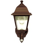 Motion-Activated Wall Sconce (Bronze)