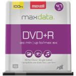 4.7GB 120-Minute DVD+Rs (100-ct Spindle)