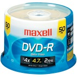 4.7GB 120-Minute DVD-Rs (50-ct Spindle)