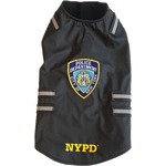 NYPD(R) Dog Vest with Reflective Stripes (X-Small)