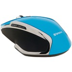 Wireless Notebook 6-Button Deluxe Blue LED Mouse (Blue)